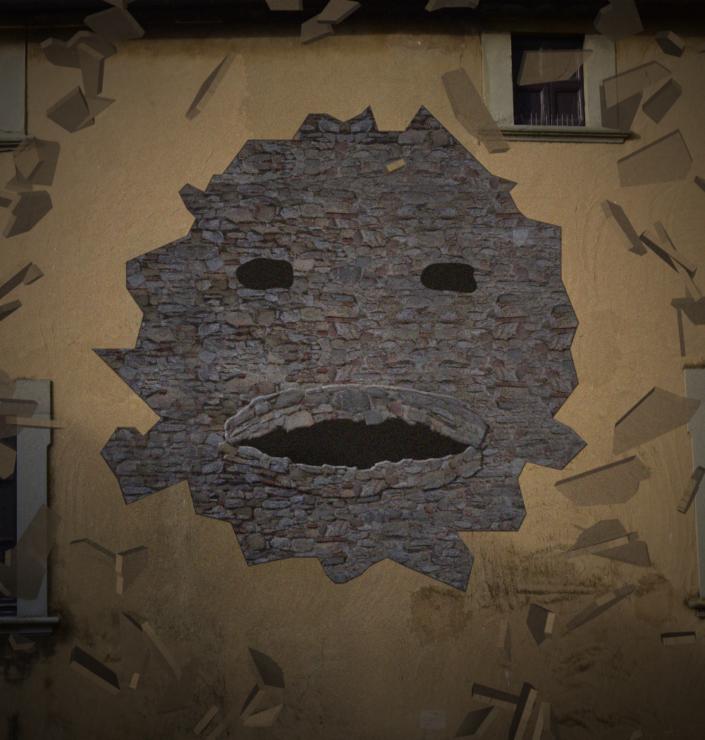 FRANCESCO VISCONTI e PINDARICA - Il Muro parlante